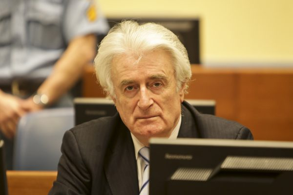 Radovan Karadzic, Photograph provided courtesy of the ICTY