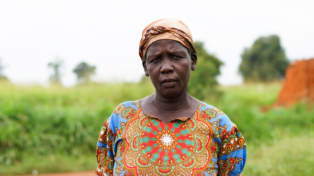 "Hellen lost her husband and two children in an attack on the Lukodi community in May 2004, known as the Lukodi massacre, in which more than 60 people were killed. ""I am unable to do anything but to carry my sadness deep inside myself. I feel hopeless. The trauma of what happened ... will never go away,"" says the 53-year old. Hellen says she feels marginalised and forgotten. ""No justice has been done because the rebels have not been held accountable."""