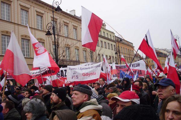 Warsaw, Smoleńsk Anniversary, April 2013